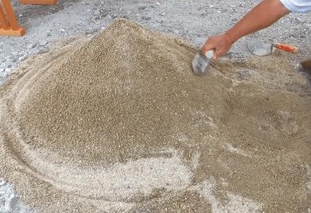 地鎮祭の砂盛