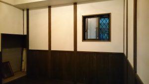 吉武女子更衣室が完成間近です!