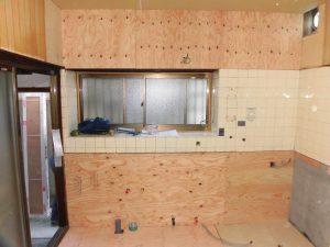 N邸キッチン改修工事