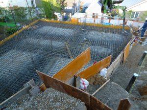 基礎コンクリート打設を行いました!