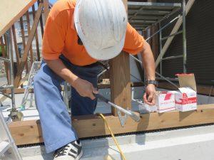 パン工房増築工事の進捗状況