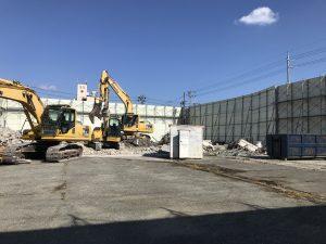 公共工事、解体がどんどん進んでいます!