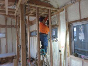 木造2階建ての住宅兼アトリエ新築工事