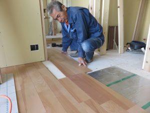 木造2階建て住宅兼アトリエ新築工事の進捗状況