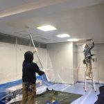 天井塗装②