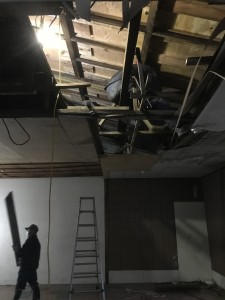 工場改修工事