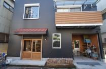 アトリエ兼住宅の新築工事