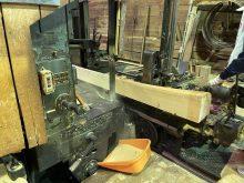 製材工場を見学させていただきました!